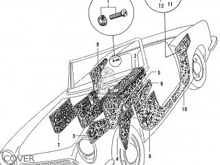 Honda S600 Convertible General Export As285 Cover