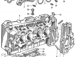 Honda S600 Convertible General Export As285 Cylinder - Cylinder Head