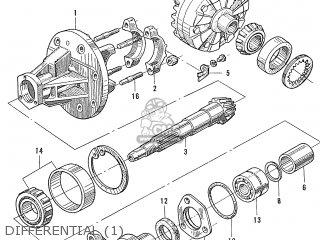 Honda S600 Convertible General Export As285 Differential 1