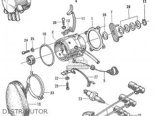 Honda S600 Convertible General Export As285 Distributor