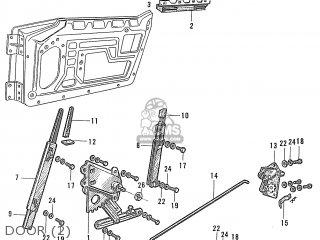 Honda S600 Convertible General Export As285 Door 2