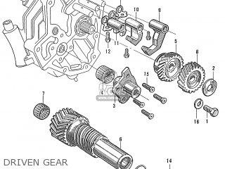 Honda S600 Convertible General Export As285 Driven Gear