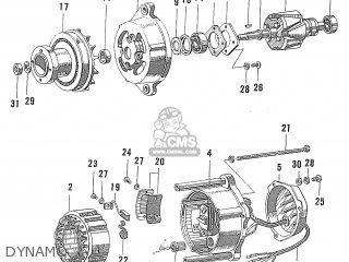 Honda S600 Convertible General Export As285 Dynamo