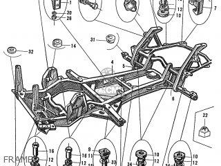 Honda S600 Convertible General Export As285 Frame