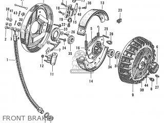 Honda S600 Convertible General Export As285 Front Brake