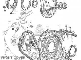 Honda S600 Convertible General Export As285 Front Cover