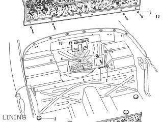 Honda S600 Convertible General Export As285 Lining