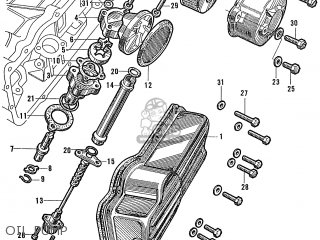 Honda S600 Convertible General Export As285 Oil Pump