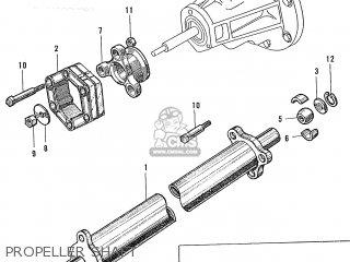 Honda S600 Convertible General Export As285 Propeller Shaft