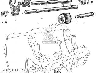 Honda S600 Convertible General Export As285 Shift Fork