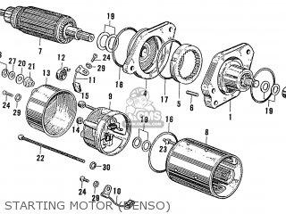 Honda S600 Convertible General Export As285 Starting Motor denso