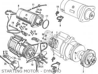 Honda S600 Convertible General Export As285 Starting Motor - Dynamo