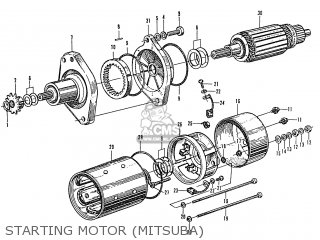 Honda S600 Convertible General Export As285 Starting Motor mitsuba