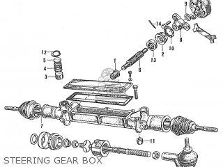Honda S600 Convertible General Export As285 Steering Gear Box