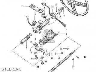 Honda S600 Convertible General Export As285 Steering