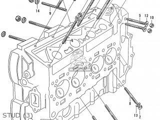 Honda S600 Convertible General Export As285 Stud 3