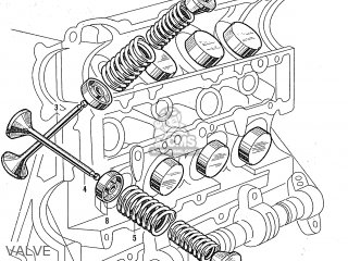Honda S600 Convertible General Export As285 Valve