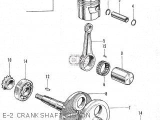 e-2 crankshaft-piston