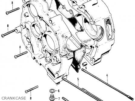 Honda S90 Super 1964 Usa Crankcase