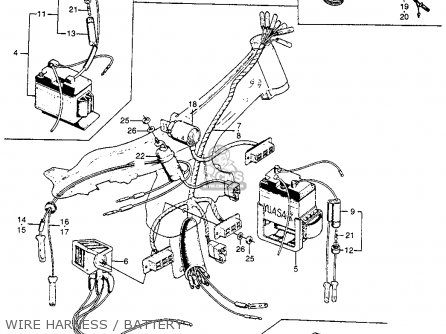 honda s90 super 90 usa wire harnessbattery_mediumhu0002f8044_3589 diagrams 1024753 ct90 wiring diagram 19701974 k2k5 early k6 ct90 wiring harness at creativeand.co