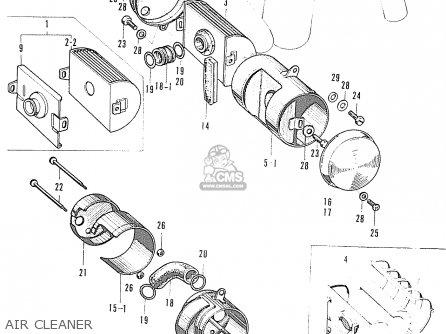 Honda S90 Super Sport General Export Air Cleaner