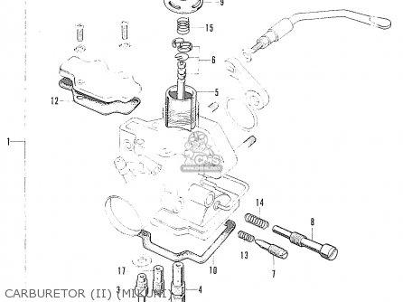 Honda S90 Super Sport General Export Carburetor ii mikuni