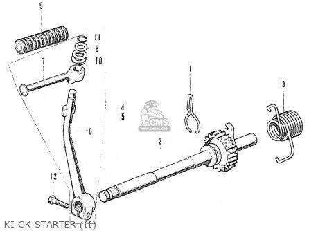 Honda S90 Super Sport General Export Ki Ck Starter ii