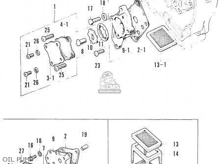 Honda S90 Super Sport General Export Oil Pump