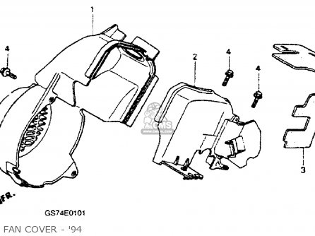 Diagram Of Honda Scooter Parts 1994 Sa50 A Wire Harness Diagram