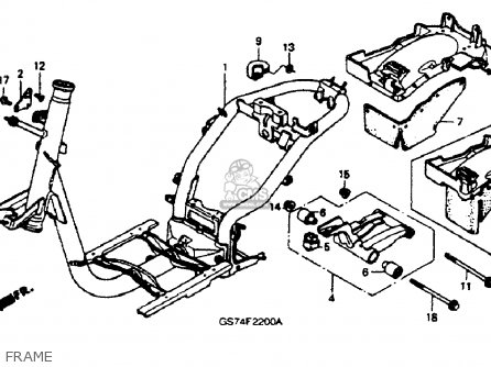 1986 honda spree carburetor diagram