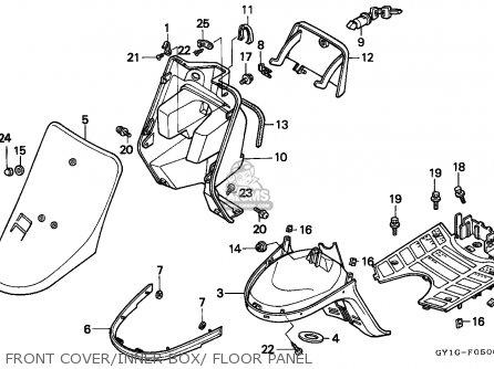 Honda Sa50 Vision 1993 P Germany Mp Parts Lists And Schematics