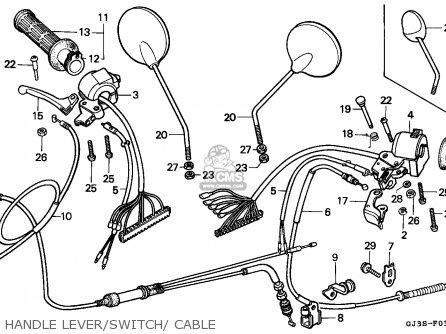 Honda Parts Diagram 1995