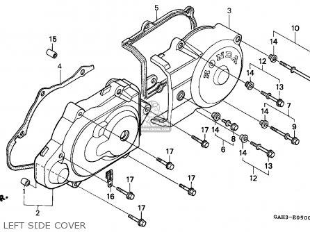 Honda Sk50m Dio 1993 P Canada Parts Lists And Schematics