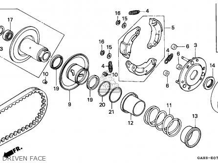 Honda    Sk50m    Dio    1993  p  Spain parts list partsmanual