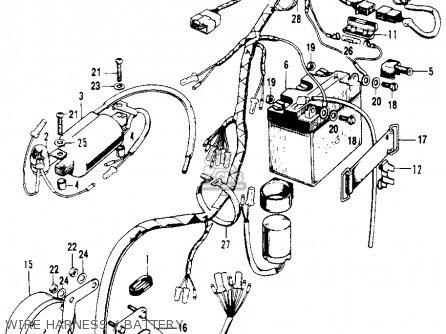 Honda    Sl100    Motosport 100 K0 1970 Usa parts list partsmanual partsfiche