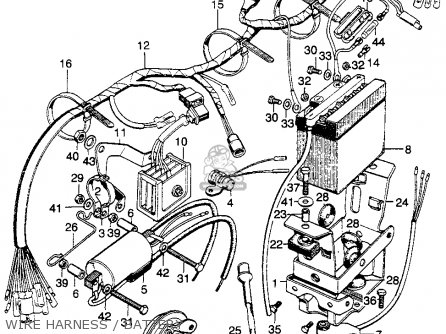 Honda Sl175 Wiring Diagram