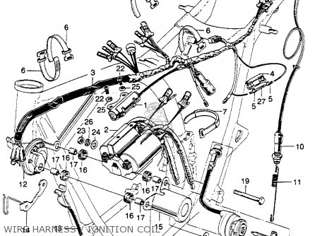 Cb350 Ignition Wiring Diagram on honda rebel wiring harness