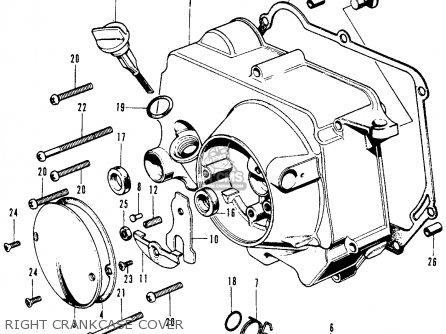 honda sl70 wiring honda cb750f wiring diagram honda sl70 motosport 70 k1 usa parts list partsmanual ...