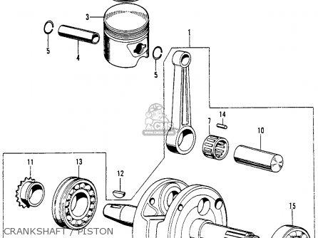 honda sl90 motosport 1969 usa parts list partsmanual