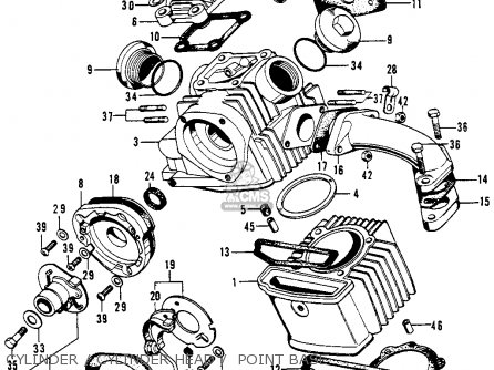 Honda Sl90 Motosport 1969 Usa Parts Lists And Schematics