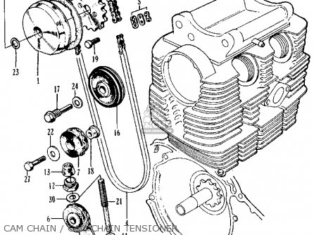 Honda Ss125a Super Sport 1967 Usa Parts Lists And Schematics