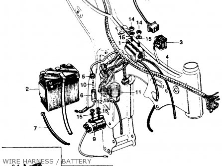 Honda Ss125 Electrical Wiring Diagram
