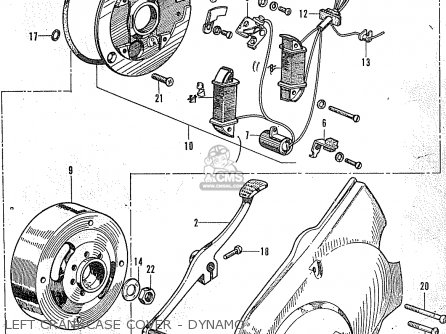 Honda Ss50v General Export Parts Lists And Schematics
