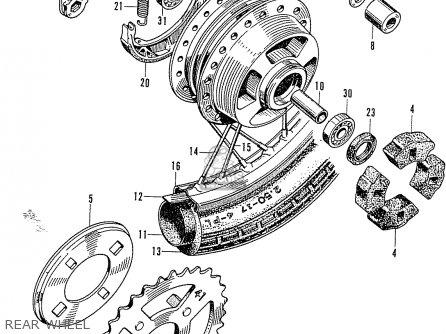 50cc Scooter Wiring Diagram further Partslist together with 351684693106 besides Honda Z50 Fork Diagram also Partslist. on honda z50 parts