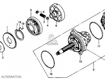 Honda St1100 1991 m Usa California Alternator