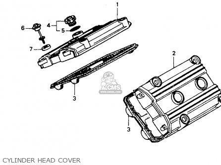 Honda St1100 1991 m Usa California Cylinder Head Cover