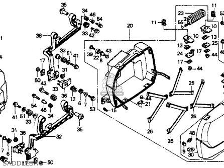 Honda St1100 1991 m Usa California Saddlebag