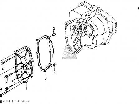 Honda St1100 1991 m Usa California Shift Cover