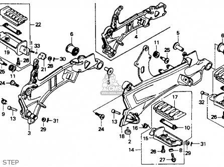Honda St1100 1991 m Usa California Step