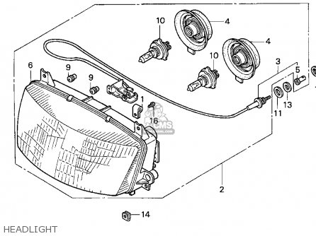 honda st1100 1996 t usa california parts lists and. Black Bedroom Furniture Sets. Home Design Ideas